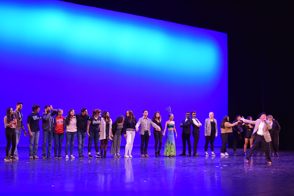 Global Wildcats Got Talent performers taking bows