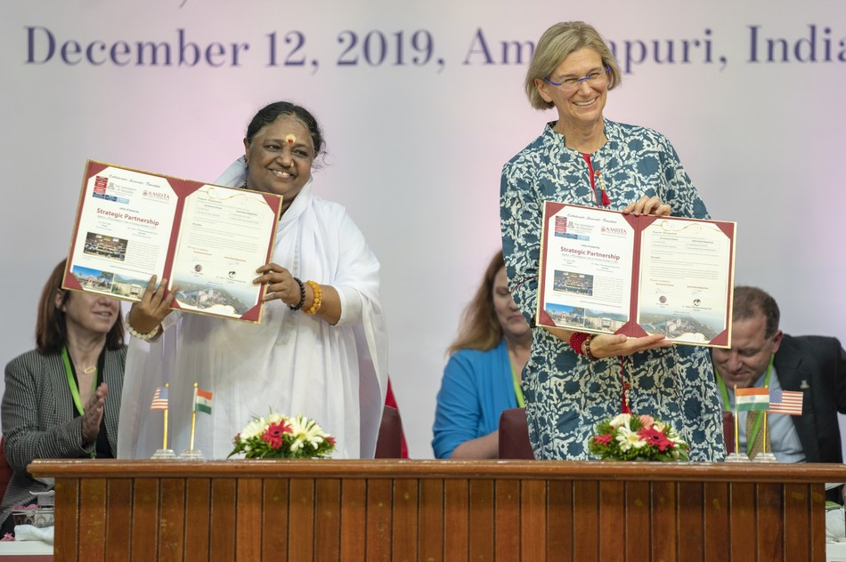 University of Arizona and Amrita sign Letter of Intent for partnership in India