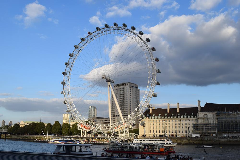 Study Abroad in London - London Eye Ferris Wheel by day