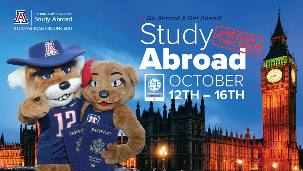 UArizona Study Abroad Virtual Fair - Oct 12-16, 2020