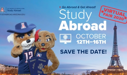 University of Arizona Study Abroad Virtual Fair 2020