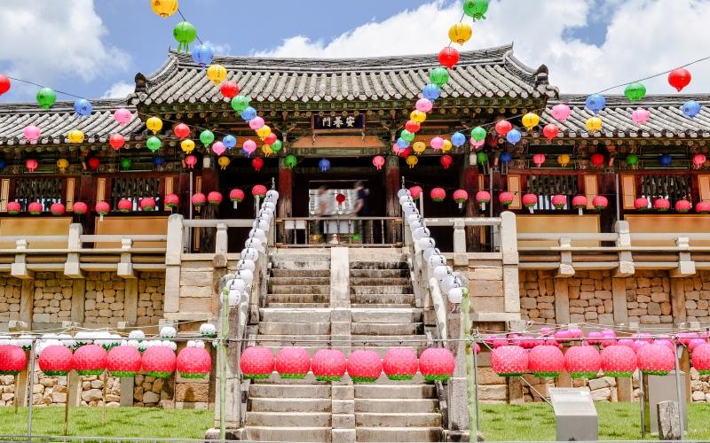 South Korea decorations