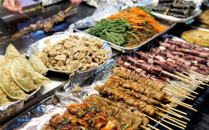 South Korea - food