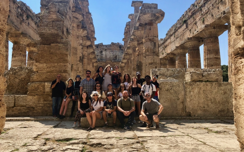 Student group - Study Abroad in Rome, Italy