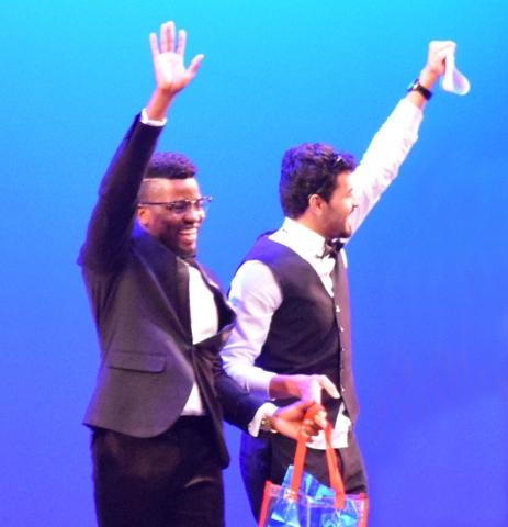 GWGT8 Winners DJ Hady Mambo and dancer Ahmed Akbar