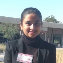 ISAC Member Ahana Singh