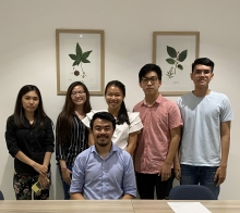 AUPP-University of Arizona Dual Degree Law Students in Phnom Penh competing in Jessup