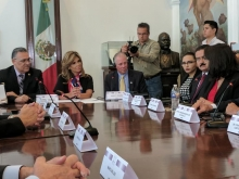 President Robbins meets with Governor of Sonora, Claudia Pavlovich and members of her administration
