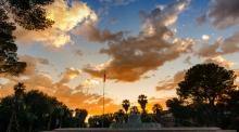 UA Campus at Sunset