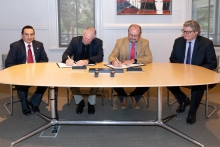 The UA signed an agreement with El Colegio de San Luis to collaborate on Social Sciences and Humanities