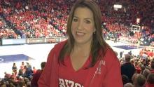 Allison Feldman at Wildcats Game