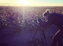 "BS alumnus and employee Anna Augustowska is the director, cinematographer and editor of ""Our Desert Farms,"" which won a Rocky Mountain Emmy Award."