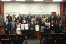 Each participant completing the program received a certificate issued jointly from the UA and the Mexican Foreign Ministry. A ceremony with Mexican officials and representatives from the University was held in Mexico City on Aug. 2.