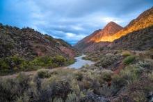 A view of the Rio Grande River