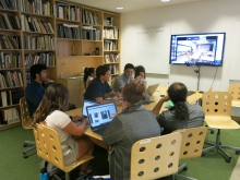 HIVE students at the UA virtually connect with peers in Cairo, Egypt.