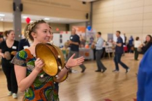 A current Coverdell Fellow celebrates Peace Corps Week at UA