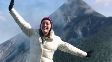 Ruth Byrnes, who will serve as a Peace Corps Volunteer following her graduation from the UA in May.