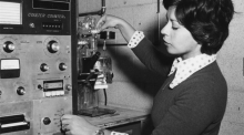 Zlática Kraljevic worked in Alan Randolph's crystallization lab in the UA Department of Chemical Engineering while pursuing graduate degrees. After earning her master's in 1977, she became one of the first women to earn a Ph.D. in chemical engineering from the UA in 1981.