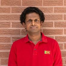 ISAC member Manujinda Wathugala