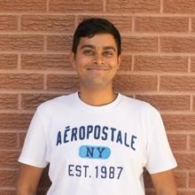 ISAC member Vishal Tadiboyina