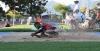 Mo Almarhoun, long jump landing