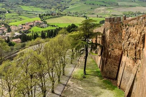 Ruin Walls Orvieto
