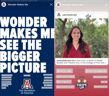 Aria Levin - Wonder Makes Me See The Bigger Picture - Study Abroad