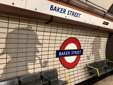 Study Abroad London - Baker Street Station