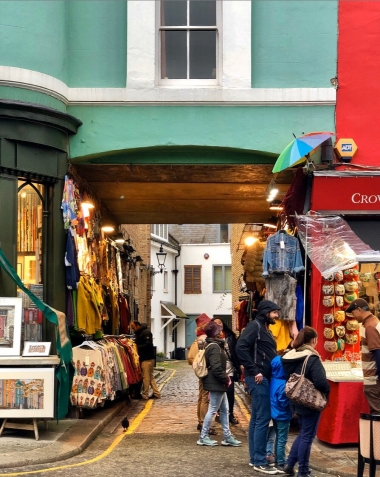 Study Abroad London - Portobello Market Scene