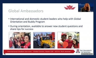 """Slide from presentation """"Global Ambassadors"""""""