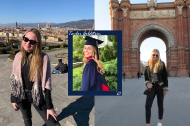 Taylor Goldstein - study abroad graduate student