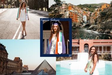 Topacio Salazar study abroad graduating 2021