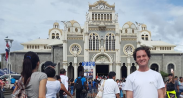 UA student Brenden Barness studied abroad in Costa Rica