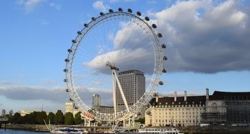 Study Abroad London - London Eye Ferris Wheel