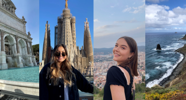 Study Abroad Student Peer Advisors Nikky and Madison, 2021