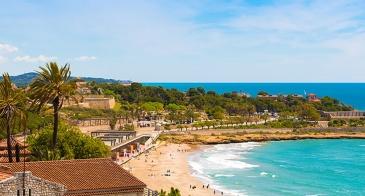 beach image in Spain