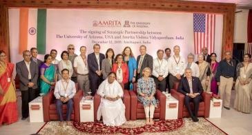 UArizona and Amrita University Sign Letter of Intent 2019