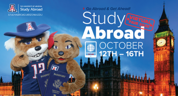 UArizona Study Abroad Virtual Fair - Oct 12-16, 2020